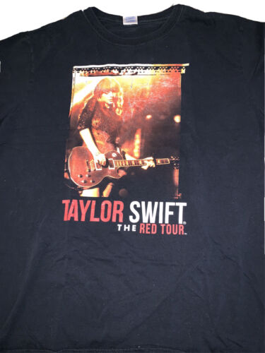 Taylor Swift 2013 The Red Tour Concert T-Shirt