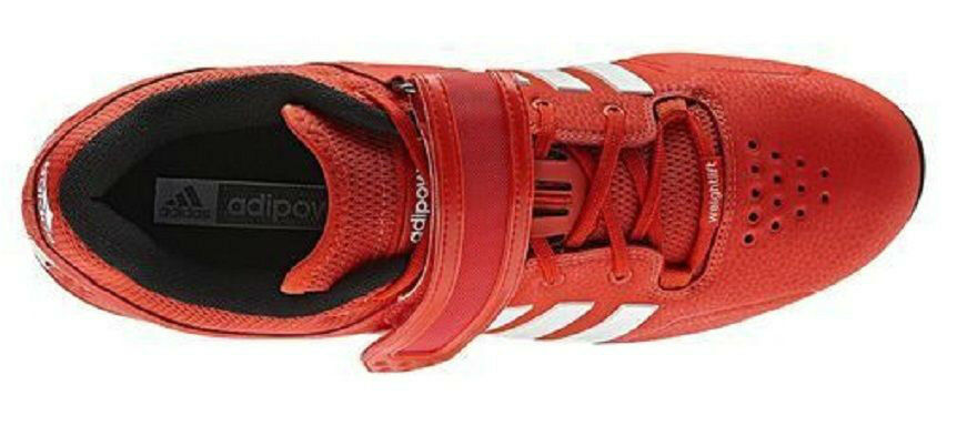 Adidas adiPower Powerlifting Platform shoes Core Energy Energy Energy Red V24382 Sz 15 NWT edddfe