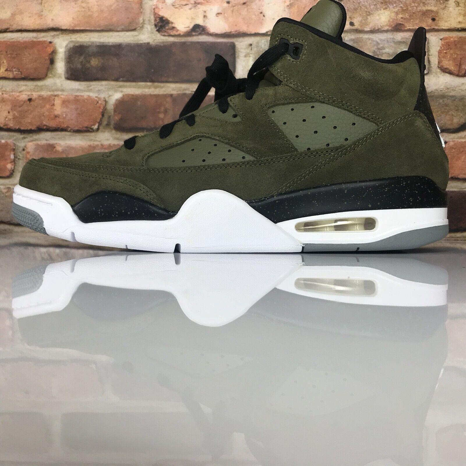 d2213ca8587a27 Nike AirJordan Son Son Son Of Low Men s Size 12 shoes Olive Canvas White- Black