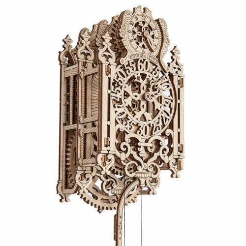 Königliche Uhr Holzpuzzle Royal Clock Wooden.City