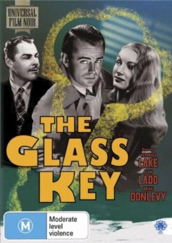1 of 1 - The Glass Key - Alan Ladd, Veronica Lake (DVD, 2008, Region 4) k1