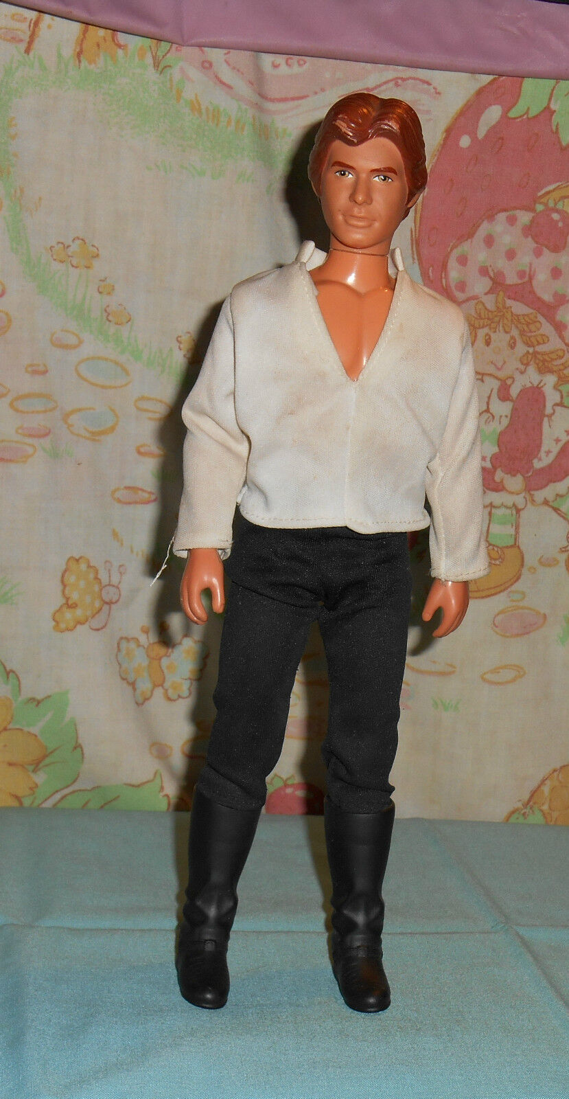 Vintage Star Wars LARGE-SIZE (12 ) HAN SOLO figure with shirt pants & boots only