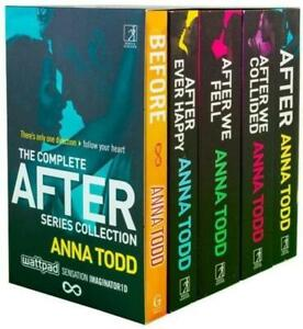 The-Complete-After-Series-Anna-Todd-Collection-5-Books-Box-Set-Fiction-Pack-NEW