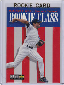 Details About Mariano Rivera Rookie Card New York Yankees Baseball Upper Deck Rc Class Sandman