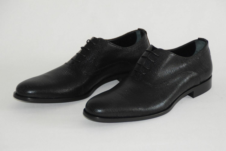 Hugo Boss Business zapatos, mod. Sigma _ oxfr _ EXO, Talla   us 10, negro