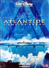 Affiche 120x160cm ATLANTIDE, L'EMPIRE PERDU /ATLANTIS, THE LOST … 2001 W. Disney