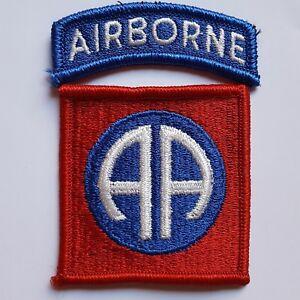 U.S. ARMY 82ND AIRBORNE DIVISION COLOR AUFNÄHER PATCH ORIGINAL