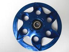 Ducati Druckplatte blau eloxiert Ergal neu
