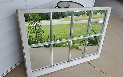 VINTAGE SASH ANTIQUE WOOD WINDOW PICTURE FRAME PINTEREST 40x28 RUSTIC DISTRESSED
