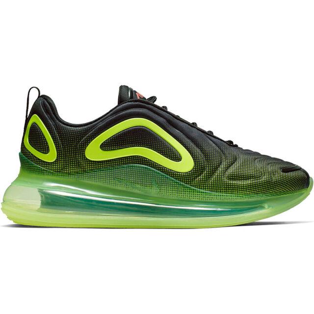 promo code c264e 384e3 Nike Air Max 720 Men's Shoes AO2924-008 Black/Bright Crimson/Volt sz 8-13