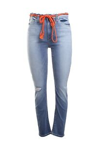 8825c2159044 Image is loading Hudson-Denim-Barbara-High-Waist-Distressed-Skinny-Jeans-