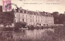 THORE-LA-ROCHETTE lchâteau de rochambeau timbrée 1933