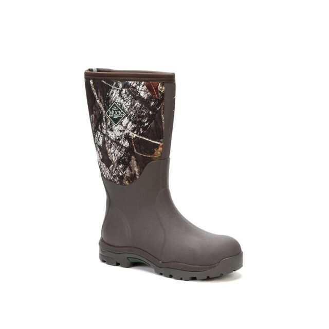 2e6dea3e463 Muck Boots Company Women's WOODY MAX, MOSSY OAK BREAK-UP CAMO, Neoprene  Rubber