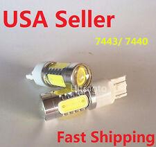 Car Auto LED Light Bulb T20 7443 7440 COB Projector Turn Brake Back Up LED Light