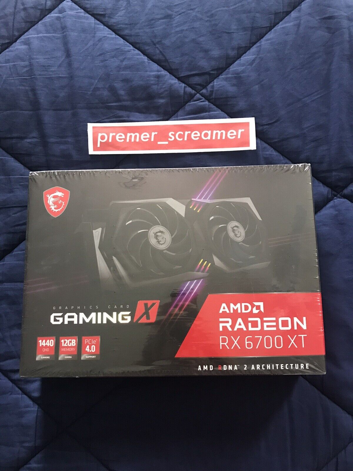 MSI GAMING X AMD RADEON RX 6700 XT Graphics Card / NEW / SHIPS NOW