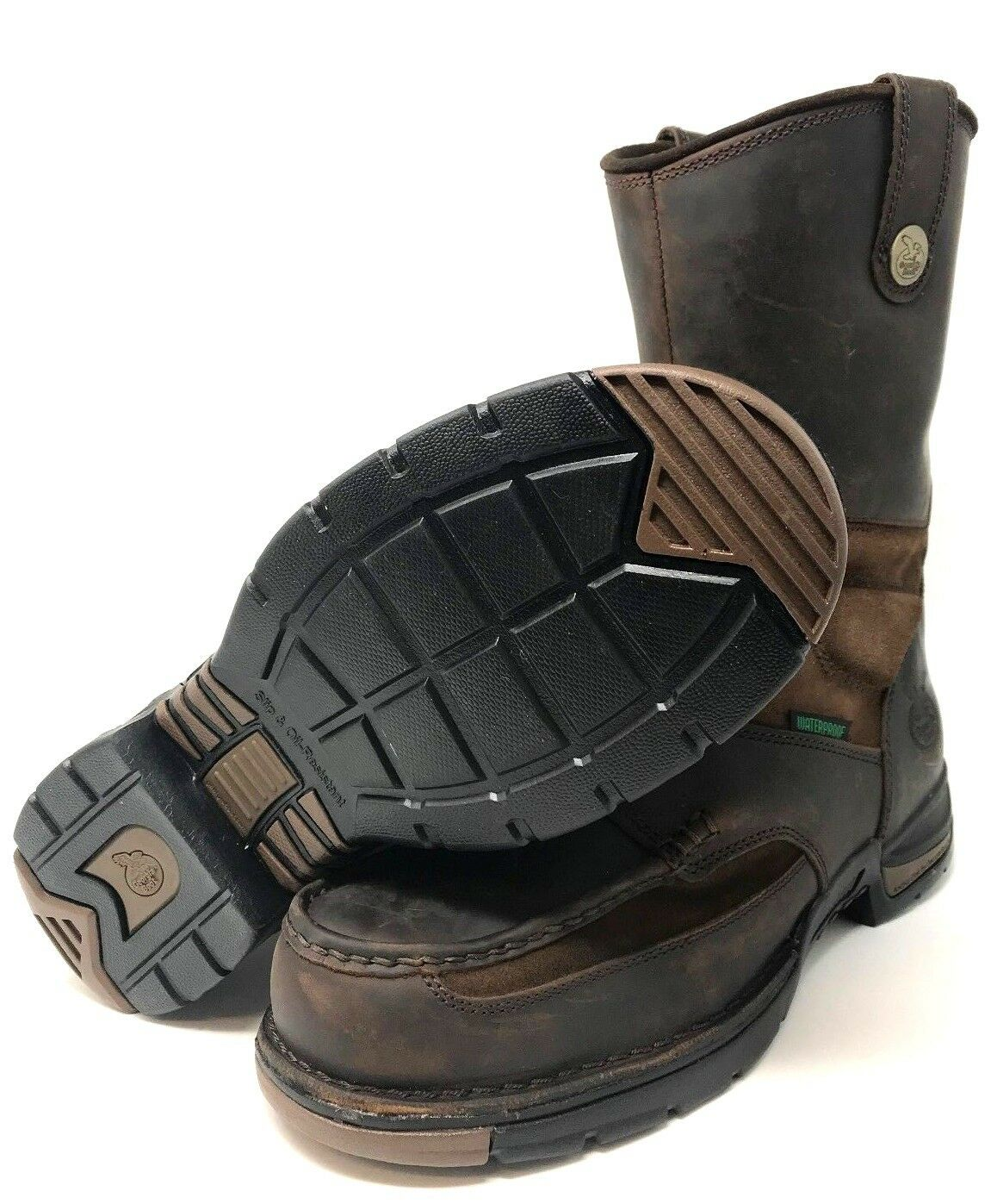 Georgia Boot Athens Waterproof Wellington Work Boot Size 12M NEW Free Shipping