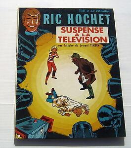 RIC-HOCHET-7-Suspense-a-la-television-TIBET-A-P-DUCHATEAU-BD-EO