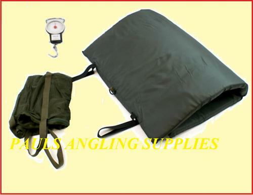 DELUXE FISHING UNHOOKING MAT SET   SCALES   SLING