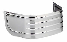 Ribbed Front Fender CHROME SKIRT Harley Davidson Softtail FLSCT & more See List