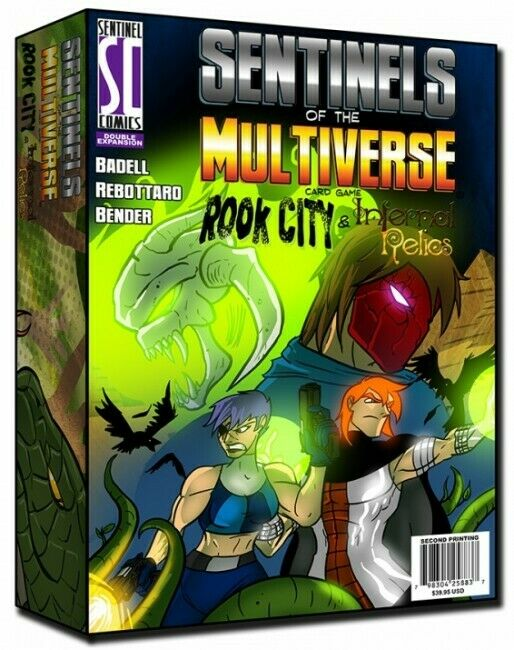 Sentinels Of The Multiverse  Rook City & Infernal Relics  - BRAND NEW
