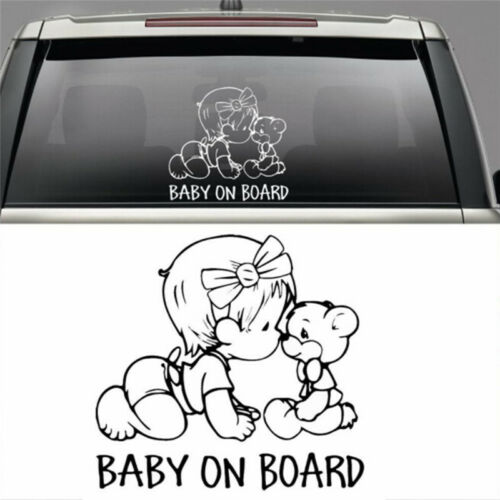 Car Stickers BABY ON BOARD window wall door car-styling decals DecorationFFBIUS