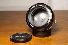 Nikon NIKKOR-S 55mm 1,2 *TOP* adaptierbar an digital Sony 7r 7s 7s NEX NX OMD