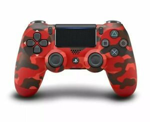 Sony DualShock 4 Wireless Controller for Playstation 4 - Red Camo