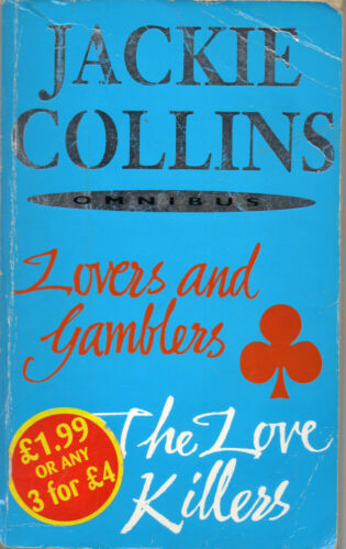 1 of 1 - Lovers and Gamblers / Love Killers by Jackie Collins (2 in 1 Paperback, 2002)