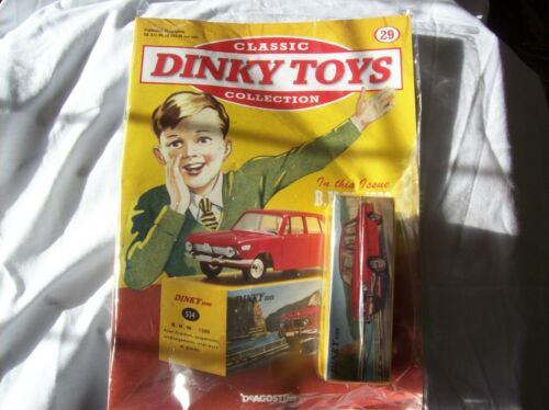 1500 Classic Dinky Toys Collection Magazine Part # 29 B.M.W