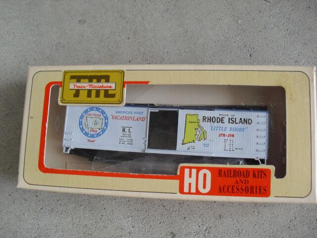 HO Train Miniatures New York Commemorative Boxcar Kit in Original Box