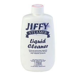 Jiffy Steamer Liquid Cleaner Removes Hard Water Deposits 2PK
