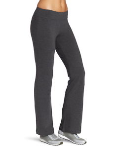 Details about Spalding Women's Bootleg Pant, Charcoal Heather, Small