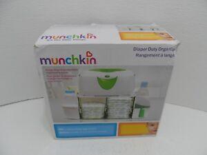 Munchkin Diaper Duty Organizer,Green