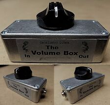 Metal Volume Box guitar amp audio taper effects loop master volume attenuator