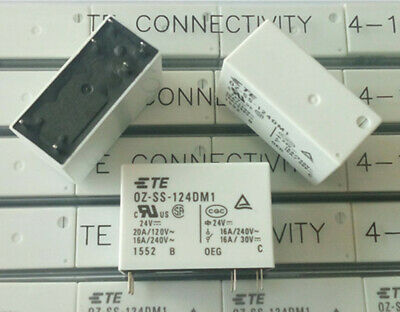1PC TYCO Relay OZ-SS-124DM1 16A 240VAC