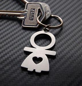 Girl Lady Hers Female Bride Wife Wedding Gift Keyring Keychain Key Fob Bespoke