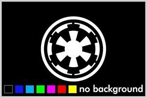 Empire Pack Logo Vinyl Decal Sticker Bumper Window Star Wars 4 Pack