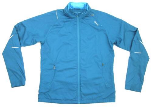 Large Runner Asics Jacket Hoodie Sz Zip Full Dark Women's Wind Teal Athletic Pw5wUqH