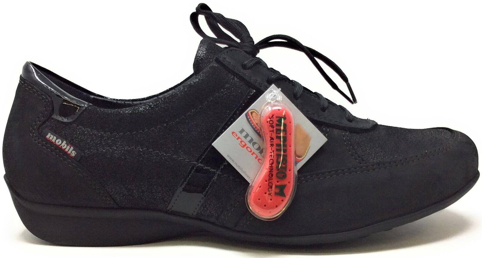 Mefisto Mobuls  donna Fedra Walking scarpe nero Buck Patent Dimensione 8 M Stati Uniti  prima qualità ai consumatori