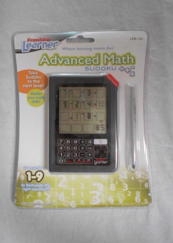 Sudoku - Franklin Learner Advanced Math Math Math Sudoku    LRB-105   NIP 70d240