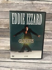 Eddie-Izzard-Glorious-DVD-2004-Music-Concert-Tour-Documentary-1997-VG