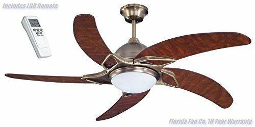 """FLORIDA MOONRAKER 52/"""" Ceiling Fan spazzare Designer Ventilatore con luce /& Remoto!"""
