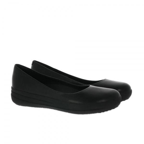 c7bc14e0225 FitFlop Petra Sugar All Black Womens Slip on Sandals UK 3 EU 36