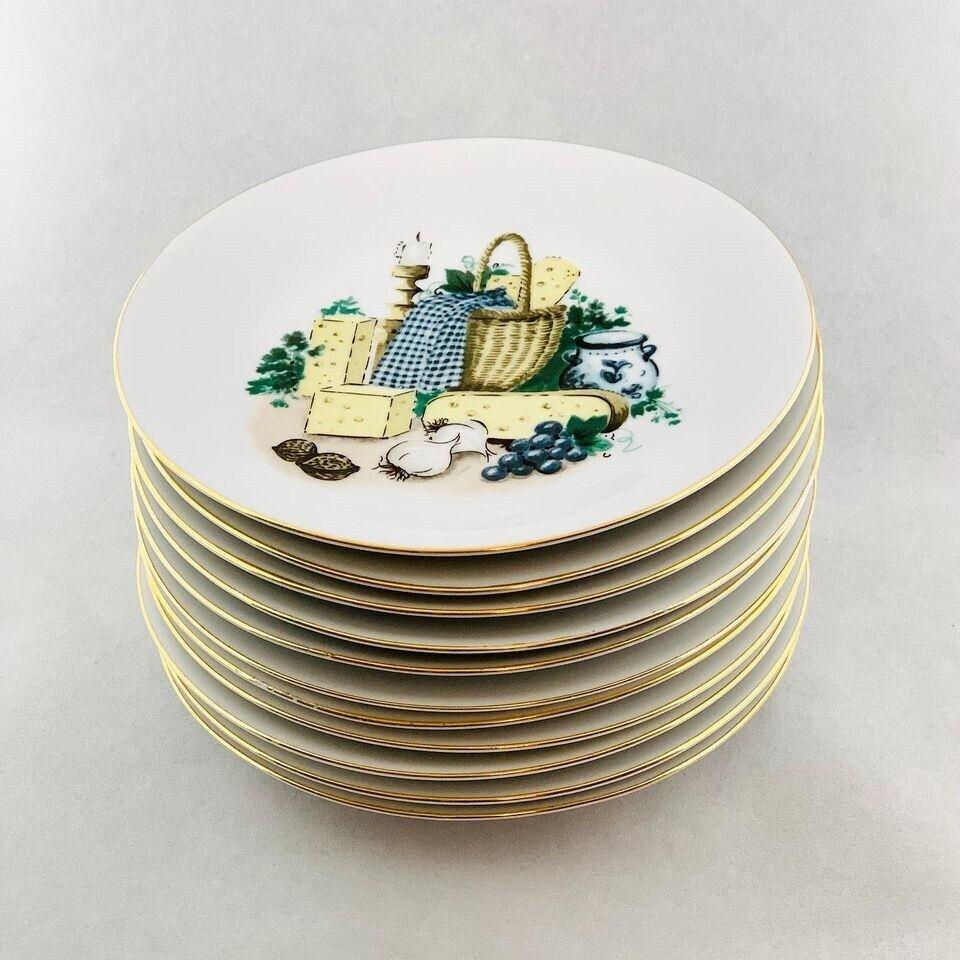 Porcelæn, Tallerkener , Bing & Grøndahl Kahla