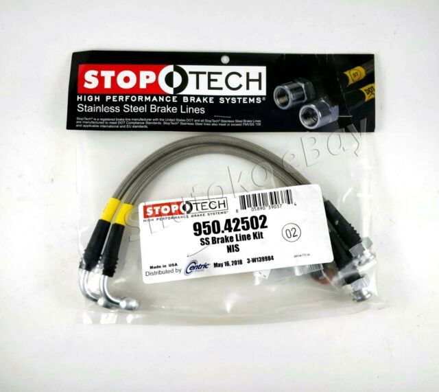 950.42503 Stoptech 03-07 350Z//G35 Stainless Steel Rear BBK Brake Lines