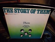 THEM The Story OF [Van Morrison] LP 1977 London Records VG+