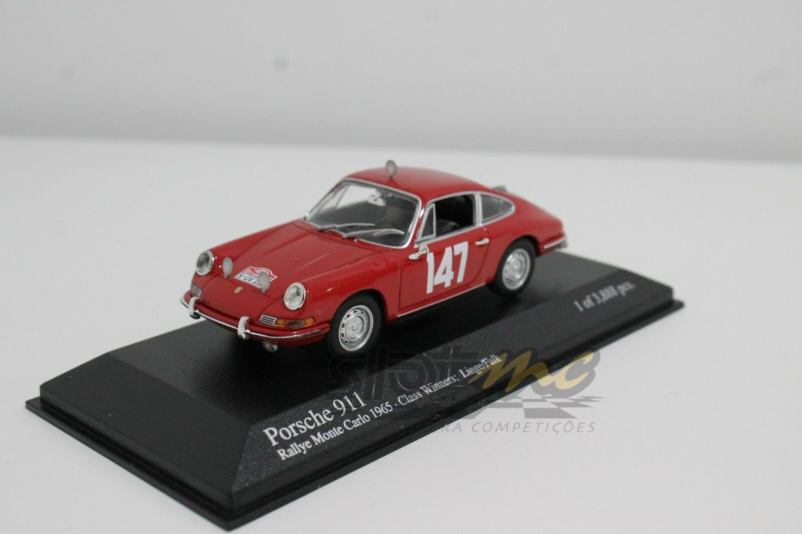 Minichamps 430656747 PORSCHE 911 Rally Monte Carlo'65 CLASS WINNERS 1/43  NEW