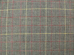 100-Wool-Worsted-Tweed-Fabric-in-a-Glen-Check-with-Windowpane-Overcheck-2-1-m