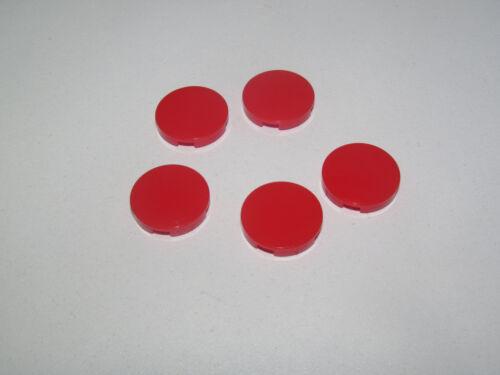 Lego ® Lot x5 Plaque Lisse Ronde 2x2 Plate Tile w Groove Choose Color 4150 14769