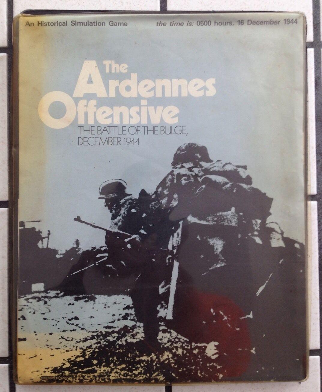 Die ardennen offensive ardennenoffensive des zweiten weltkriegs (flach - tablett) hat 1973.